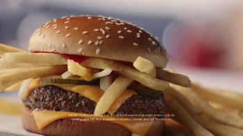 McDonald's Quarter Pounder TV Spot, 'The Fries'