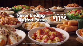 Olive Garden Never Ending Stuffed Pastas TV Spot, 'The Home of Never Ending' - Thumbnail 8