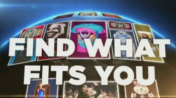 WWE Shop TV Spot, 'Join the Universe: 25% Off Titles & 40% Off Tees' Song by Krissie Karlsson - 13 commercial airings