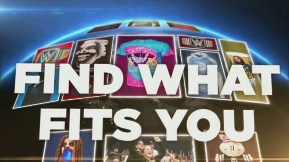 WWE Shop TV Commercial, 'Join the Universe: 25 Percent Off Titles & 40 Percent Off Tees' Song by Kri