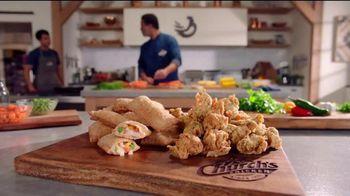 Church's Chicken Restaurants Buttermilk Ranch Megabites and Handheld Chicken Pot Pies TV Spot, 'Get Bold'