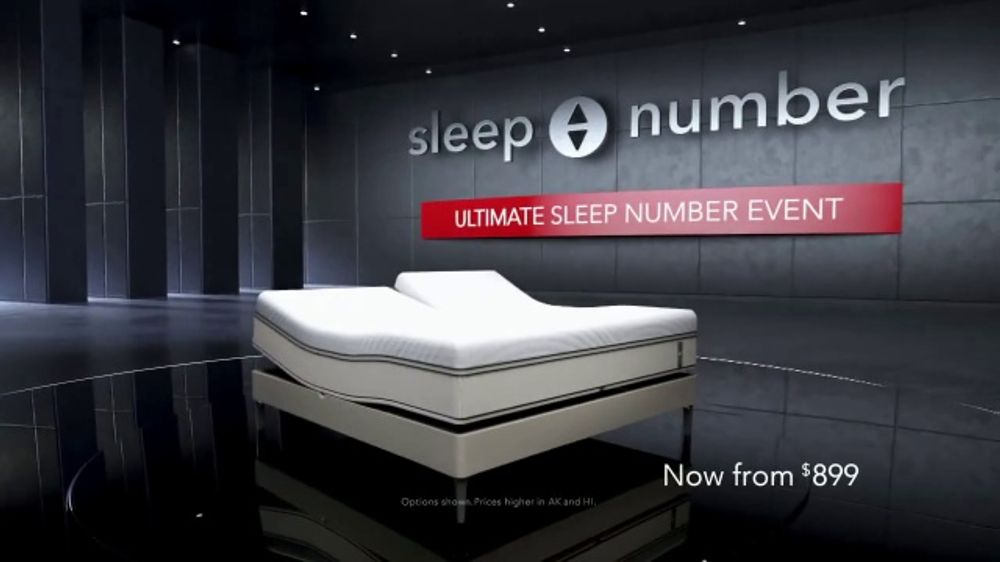 Ultimate Sleep Number Event TV Commercial, '50 Percent and Zero Percent Interest' Featuring Dak Pres
