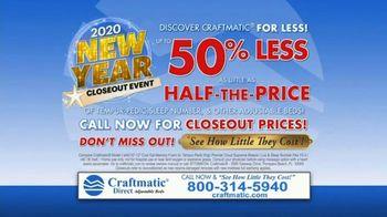 Craftmatic 2020 New Year Closeout Event TV Spot, 'Crazy Mattress Lady' - Thumbnail 10