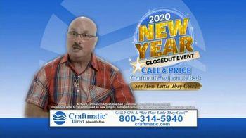 Craftmatic 2020 New Year Closeout Event TV Spot, 'Crazy Mattress Lady' - Thumbnail 8