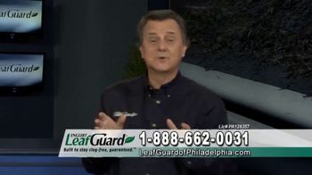 LeafGuard of Philadelphia 99 Cent Install Sale TV Spot, 'Final Week: No Matter the Weather' - Thumbnail 2