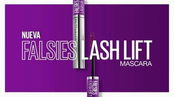 Maybelline New York Falsies Lash Lift Mascara TV Spot, 'Levanta, alagra da volumen' con Gigi Hadid [Spanish] - 319 commercial airings