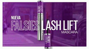 Maybelline New York Falsies Lash Lift Mascara TV Spot, 'Levanta, alagra da volumen' con Gigi Hadid [Spanish] - Thumbnail 8