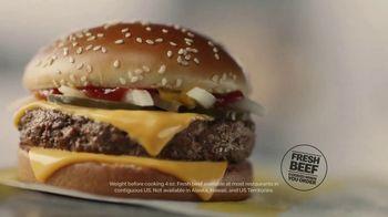 McDonald's Quarter Pounder TV Spot, 'Perfect Made Perfecter: Quality Beef' - Thumbnail 3
