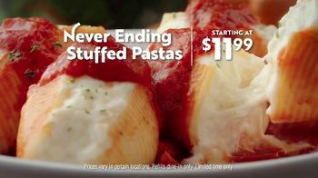 Olive Garden Never Ending Stuffed Pastas TV Spot, \'Again and Again\'