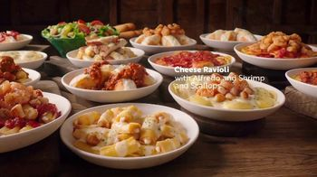 Olive Garden Never Ending Stuffed Pastas TV Spot, 'Again and Again' - Thumbnail 4