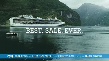 Princess Cruises Best Sale Ever TV Spot, 'The Moments That Bring You Closer Together' - Thumbnail 5