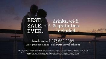 Princess Cruises Best Sale Ever TV Spot, 'The Moments That Bring You Closer Together' - Thumbnail 8