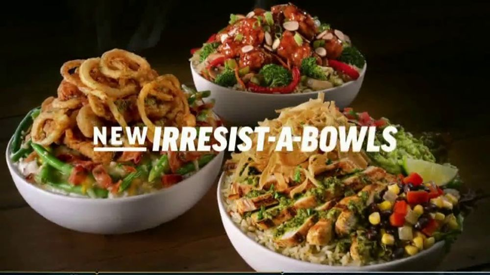 Applebee S Irresist A Bowls Tv Commercial Starting At 7 99 Song By Robert Palmer Ispot Tv