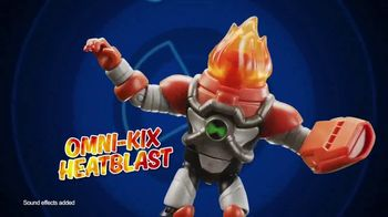 Ben 10 Omni-Kix Armor Figures TV Spot, 'Break Down the Bad Guys'
