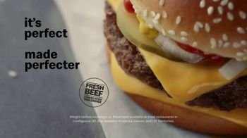 McDonald's Quarter Pounder TV Spot, 'Perfect Made Perfecter: Pickles' - Thumbnail 7