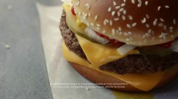 McDonald's Quarter Pounder TV Spot, 'Perfect Made Perfecter: Cheese' - Thumbnail 7