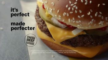 McDonald's Quarter Pounder TV Spot, 'Perfect Made Perfecter: Cheese' - Thumbnail 8