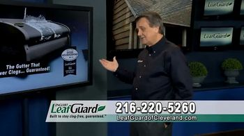 LeafGuard of Cleveland 99 Cent Install Sale TV Spot, 'Not a Cover' - Thumbnail 1