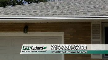 LeafGuard of Cleveland 99 Cent Install Sale TV Spot, 'Not a Cover'