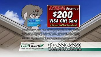 LeafGuard of Cleveland 99 Cent Install Sale TV Spot, 'Not a Cover' - Thumbnail 6