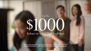 Yamaha Pianos TV Spot, 'The Red Envelope: Rebate' - Thumbnail 8