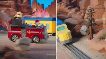 PAW Patrol Split Second Vehicles TV Spot, 'Rescue the Train' - Thumbnail 3