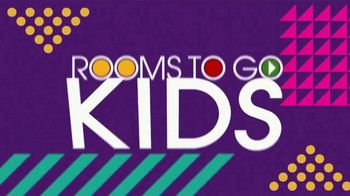 Rooms to Go Kids TV Spot, 'Fun and Functional: Bedrooms' - Thumbnail 2