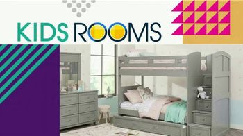 Rooms to Go Kids TV Spot, 'Fun and Functional: Bedrooms' - Thumbnail 3
