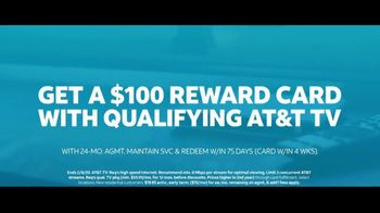 AT&T TV TV Spot, 'Synergized: $100 Reward Card' - Thumbnail 10