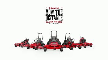 Gravely Mow the Distance Sales Event TV Spot, 'Miles and Miles' - Thumbnail 8