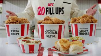 KFC $20 Fill Up TV Spot, 'Holy Buckets: Free Delivery' - Thumbnail 9