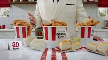 KFC $20 Fill Up TV Spot, 'Holy Buckets: Free Delivery' - Thumbnail 2