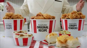 KFC $20 Fill Up TV Spot, \'Holy Buckets: Free Delivery\'