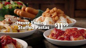 Olive Garden Never Ending Stuffed Pastas TV Spot, 'Generosidad ilimitada' [Spanish] - Thumbnail 2