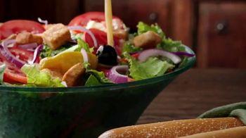 Olive Garden Never Ending Stuffed Pastas TV Spot, 'Generosidad ilimitada' [Spanish] - Thumbnail 5