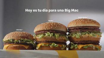McDonald's Big Mac TV Spot, 'Hay tres tamaños' [Spanish] - Thumbnail 5