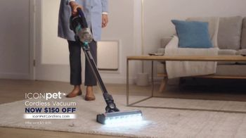 Bissell ICONpet Cordless Vacuum TV Spot, 'Inspired by Our Pets: $150 Off' - Thumbnail 5