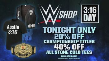 WWE Shop TV Spot, 'Celebrate 3:16 Day' - Thumbnail 6