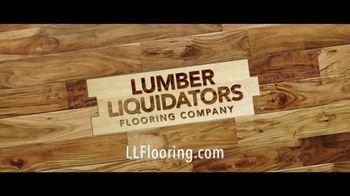 Lumber Liquidators TV Spot, 'Water-Resistant Laminate & Hardwoods' Song by Electric Banana - Thumbnail 9