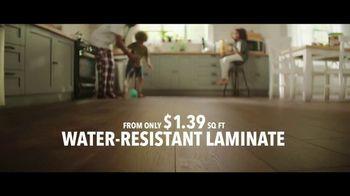 Lumber Liquidators TV Spot, 'Water-Resistant Laminate & Hardwoods' Song by Electric Banana - Thumbnail 3