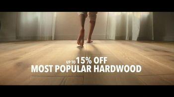 Lumber Liquidators TV Spot, 'Water-Resistant Laminate & Hardwoods' Song by Electric Banana - Thumbnail 5