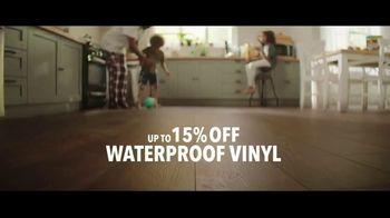 Lumber Liquidators TV Spot, 'Waterproof Vinyl and Hardwood: 15 Percent Off' Song by Electric Banana - Thumbnail 3