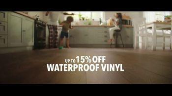 Lumber Liquidators TV Spot, 'Waterproof Vinyl and Hardwood: 15 Percent Off' Song by Electric Banana - Thumbnail 4