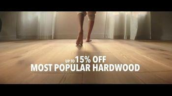 Lumber Liquidators TV Spot, 'Waterproof Vinyl and Hardwood: 15 Percent Off' Song by Electric Banana - Thumbnail 5