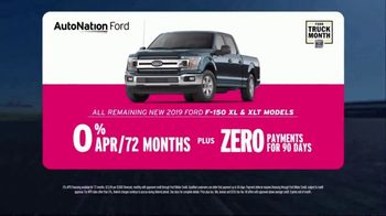 AutoNation Truck Month TV Spot, 'Go Time: 2019 F-150s' - Thumbnail 5