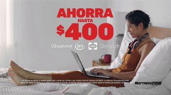 Mattress Firm Venti Semi-Annual TV Spot, 'Ahorra hasta $400 dólares: base adjustable gratis' [Spanish] - Thumbnail 2