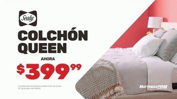 Mattress Firm Venti Semi-Annual TV Spot, 'Ahorra hasta $400 dólares: base adjustable gratis' [Spanish] - Thumbnail 4