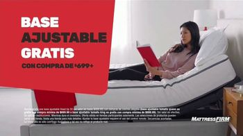 Mattress Firm Venti Semi-Annual TV Spot, 'Ahorra hasta $400 dólares: base adjustable gratis' [Spanish] - Thumbnail 5
