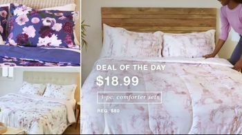Macy's One Day Sale TV Spot, 'Deals of the Day: Comforters, Cookware & Luggage' - Thumbnail 2