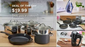 Macy's One Day Sale TV Spot, 'Deals of the Day: Comforters, Cookware & Luggage' - Thumbnail 3